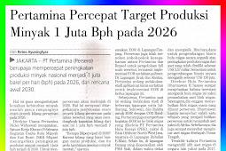 Pertamina Accelerates BPD 1 Million Oil Production Target by 2026