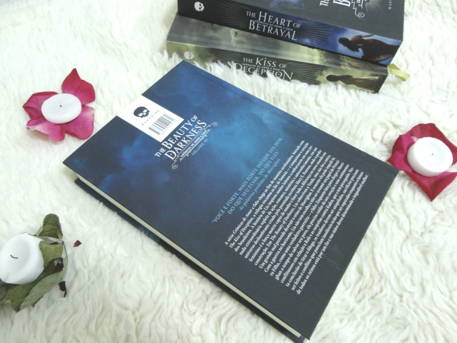 RESENHA DO LIVRO: THE BEAUTY OF DARKNESS - MARY E. PEARSON @DarkSideBook