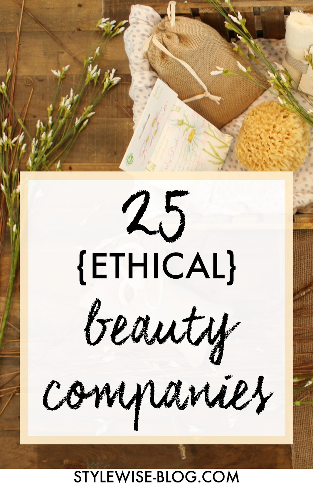 25 ethical and sustainable beauty and personal care companies