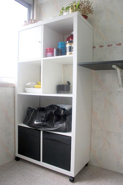 móvel branco cozinha
