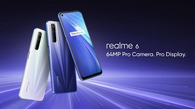 gadgets and widgets, realme 6, realme 6 colours, realme