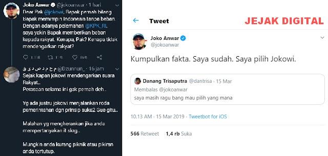 Sutradara Pendukung Jokowi Joko Anwar Kena Batunya
