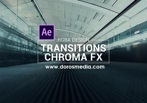 انتقالات افتر افكت انتقالات متنوعة لبرنامج الافتر افكت  Transitions– Free After Effects Template