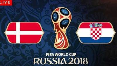 موعد عرض  مباراة كرواتيا والدنمارك  بتاريخ 01-07-2018 كأس العالم 2018 في روسيا