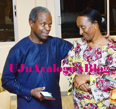 So Romantic! Love-smitten VP Osinbajo Writes Open Love Poem to His Wife on Her Birthday