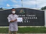 ALEMAKO Tantang Ketua APDESI Konkep dan Beberkan Dugaan Korupsi Desa Tumburano di Kejati Sultra