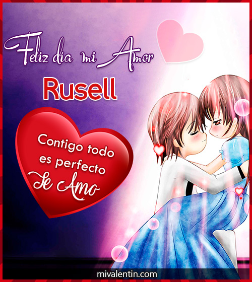 Feliz San Valentín Rusell