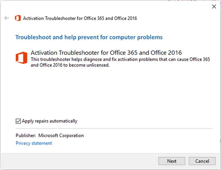 Cara Perbaiki Masalah Office Activation Error 0xc004c060