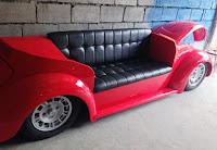 sillon hecho con parte de un volkswagen