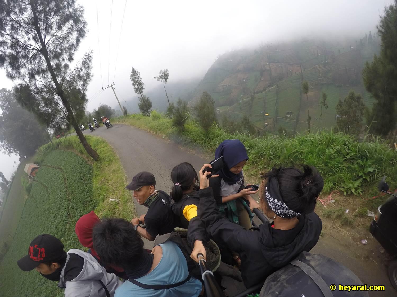 perjalanan menuju Ranu Pane