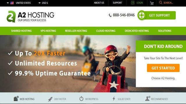 a2 hosting service provider