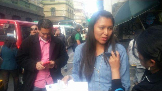 Yadira Peláez deberá volver a la Fiscalía de La Paz este jueves en la tarde en calidad de