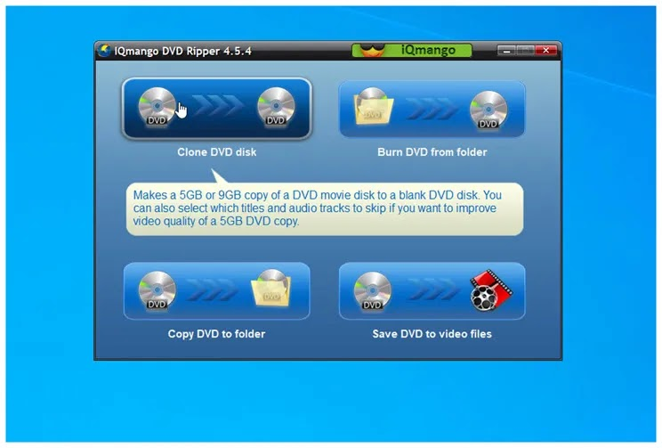 IQmango DVD Ripper : Αντιγράψτε τα αγαπημένα σας DVD στον υπολογιστή σας