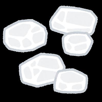 氷砂糖のイラスト