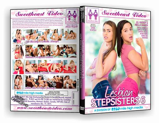 DVD -Lesbian Stepsisters #6 XXX 2018 – ISO