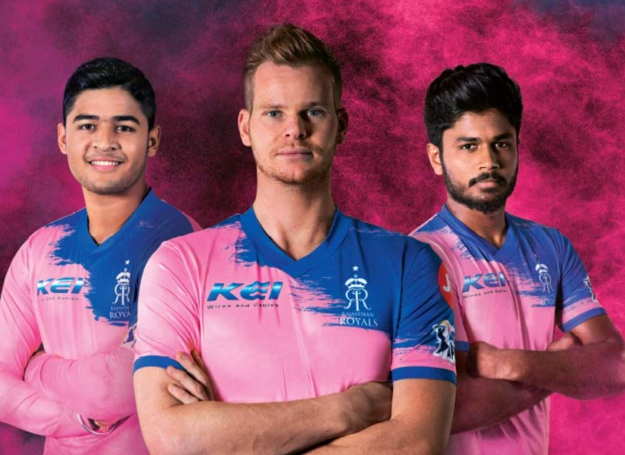 RR Jersey for IPL 2020