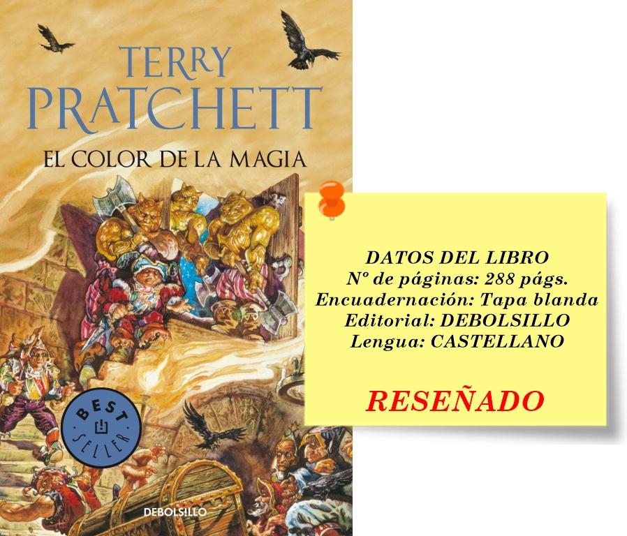 Reseña El color de la magia por Terry Prachett - Estado Lector.