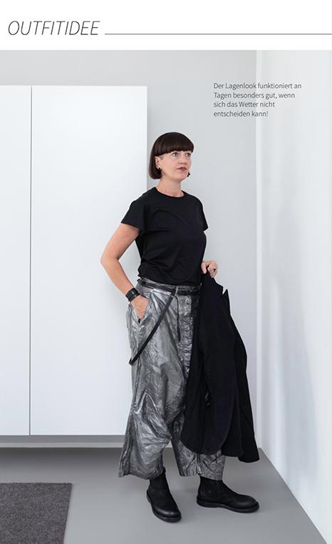 Der Lagenlook funktioniert im Spätsommer - mein Outfit von RUNDHOLZ Mode.