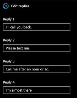 Windows 10 mobile Can' talk replies