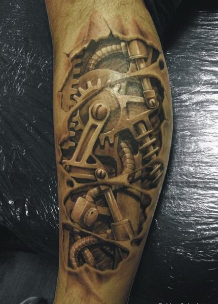 Tattoo art: Cyborg Tattoos photos