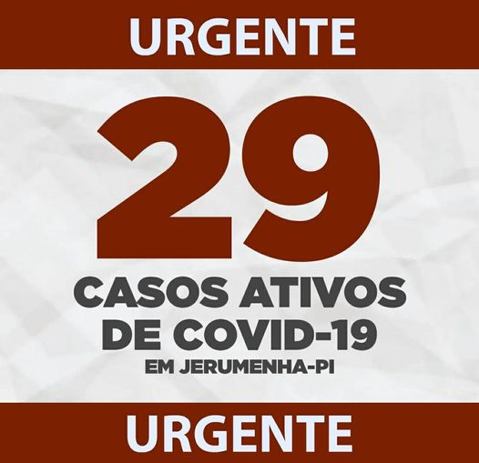 Jerumenha do Piauí tem novos avanços da covid-19