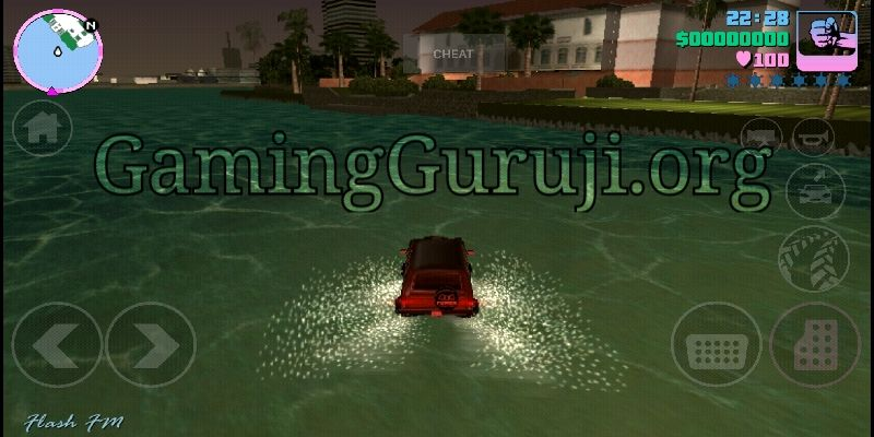 GTA vice city cheater apk gameplay screenshot