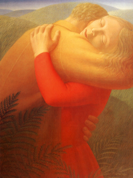 George Clair Tooker 1920-2011 | American Magic Realist painter