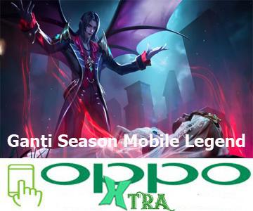 Ganti Season Mobile Legend
