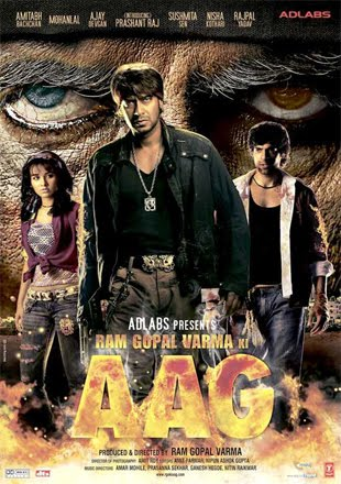 Ram Gopal Varma Ki Aag 2007 Full Hindi Movie Download HDRip 720p