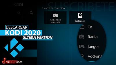 Como Descargar Kodi Ultima Versión 2020 FULL ESPAÑOL
