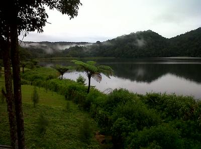 Lokasi Danau Lau Kawar