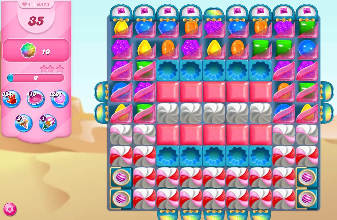 Candy Crush Saga level 9575
