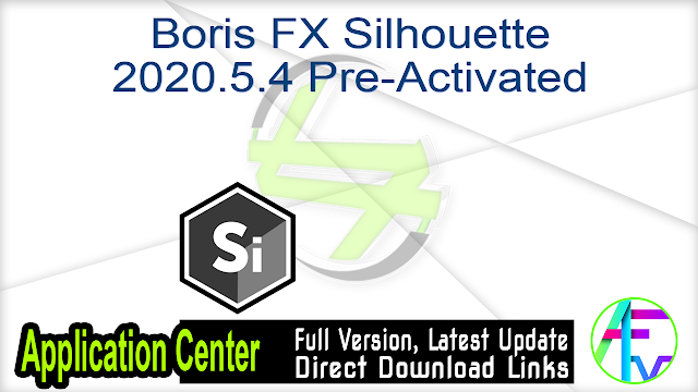 Boris FX Silhouette 2020.5.4 Pre-Activated