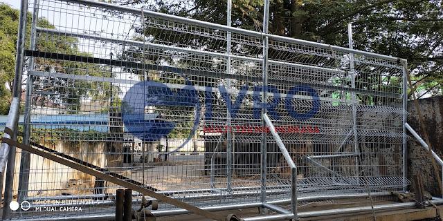 Jual Pintu Pagar BRC Galvanis Jakarta Timur