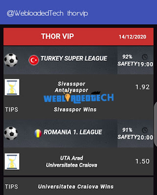 Download  Thorvip Betting Tips Apk