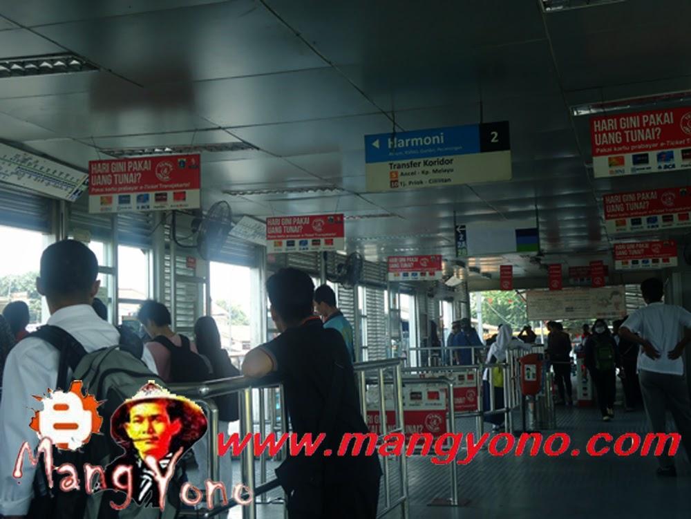 Transjakarta Busway Pulogadung Harmoni Blog Mang Yono