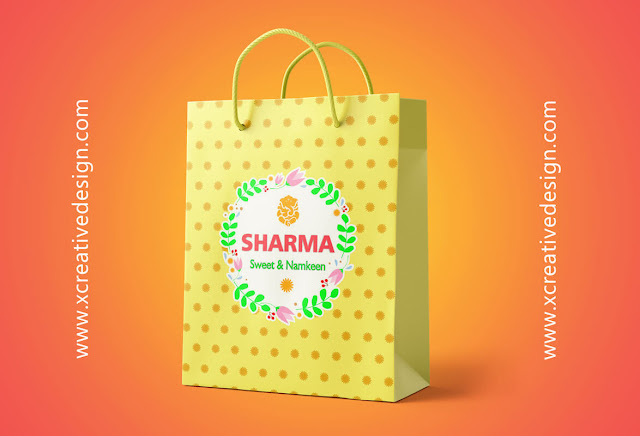 Sweets Carry Bag Design