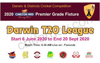 Darwin T20 League All match Prediction Tips Schedule Live Telecast Score