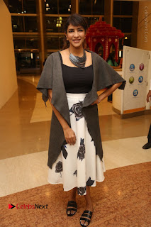 Actress Lakshmi Manchu Pos at Asian Para Badminton Championship Winners Felicitation Ceremony  0078.JPG