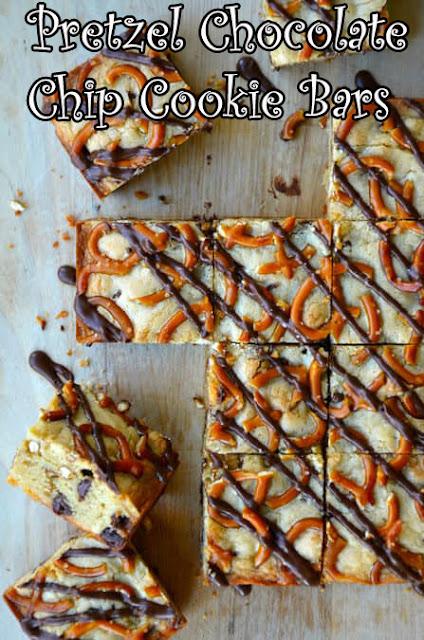 Pretzel Chocolate Chip Cookie Bars Recipes