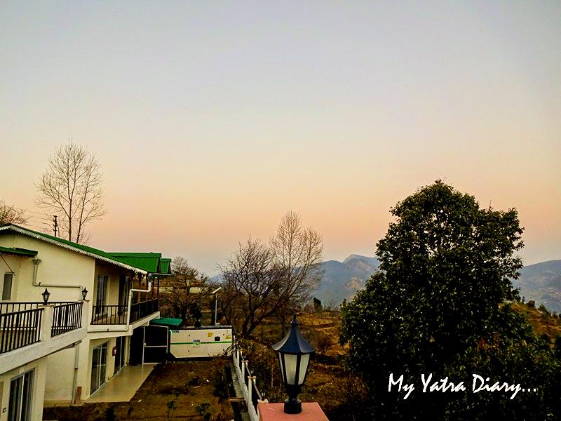 Lovely Sunrise at Rosewood Dhanachuli Retreat, Uttarakhand
