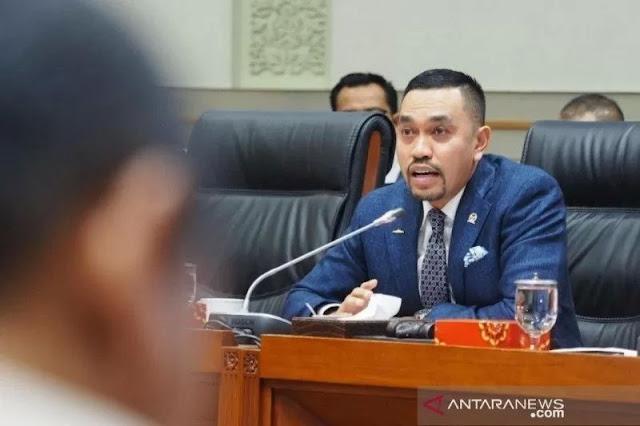 Sebut Keputusan Membubarkan FPI Sudah Sangat Tepat, Ahmad Sahroni: Ini Sudah Bukan Urusan Politik
