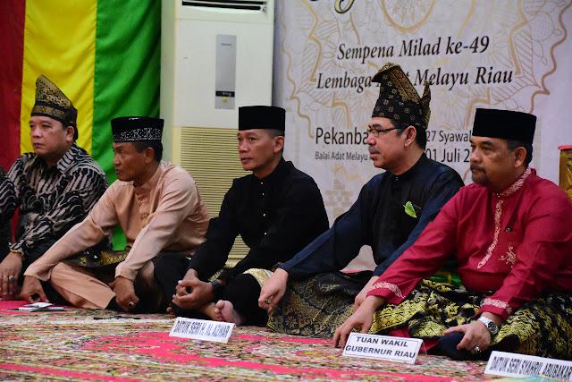 Lembaga Adat Melayu Riau Gelar Milad Ke–49