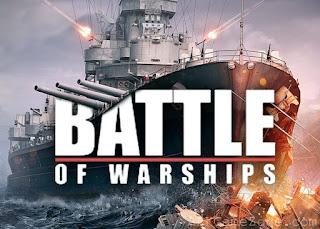لعبة الحروب وقيادة السفن البحرية  Battle of warships للاندرويد
