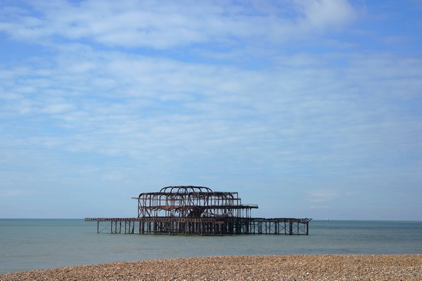 brighton seafront front mer west pier