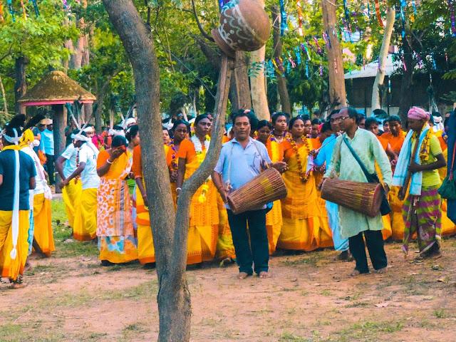 Santali traditional dance