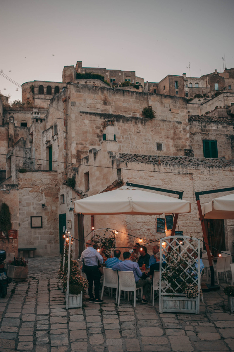 24 hours in Matera