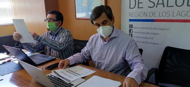 El seremi de Salud, Alejandro Caroca
