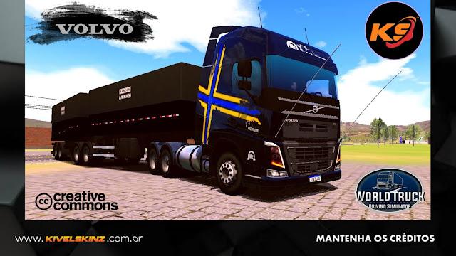 VOLVO FH16 750 - FAZ. FLORES ESCURO