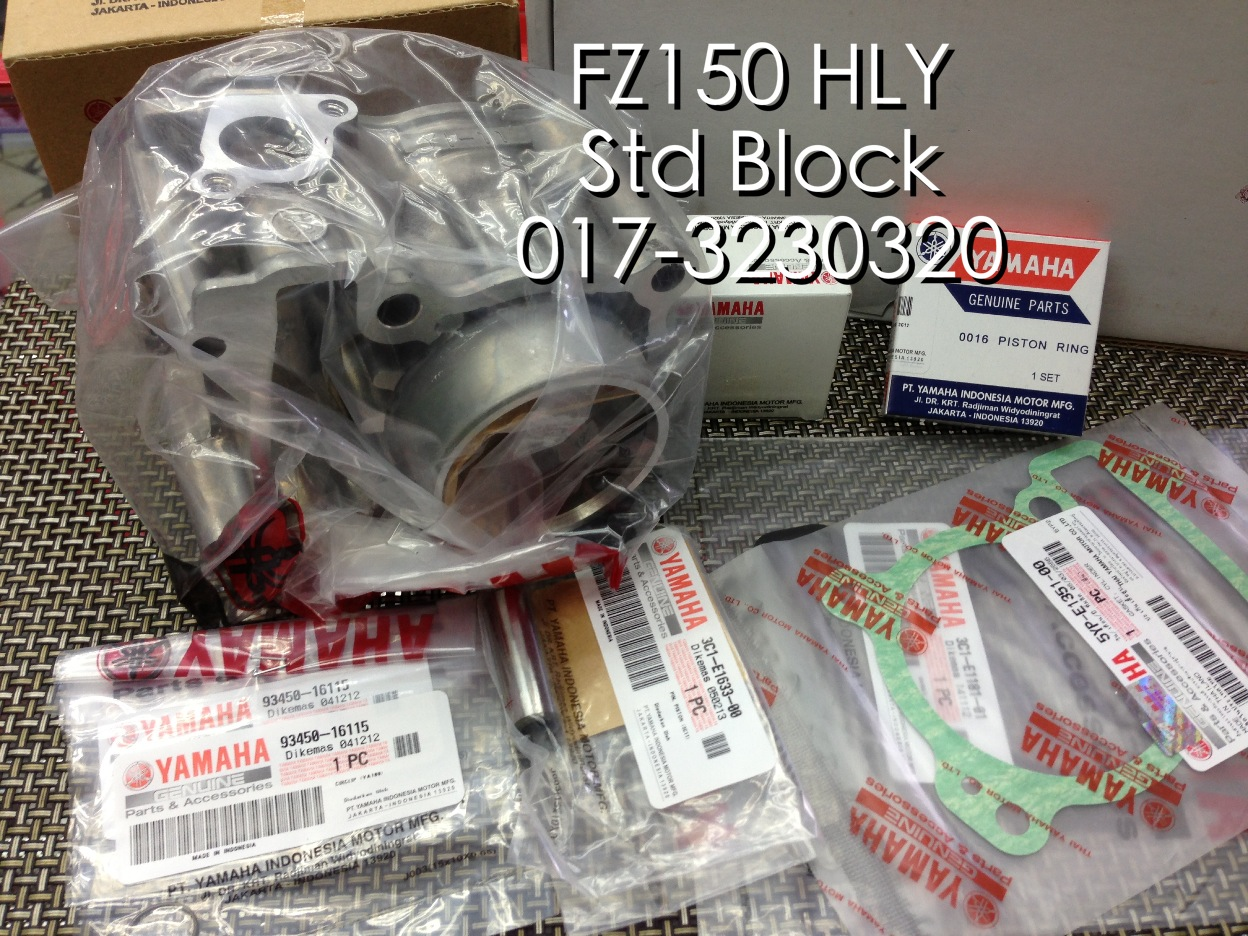 CH Motorcycle Store: HLY FZ150 Standard Block 57mm